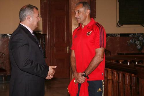 Joaquin Alonso con Diego Martinez