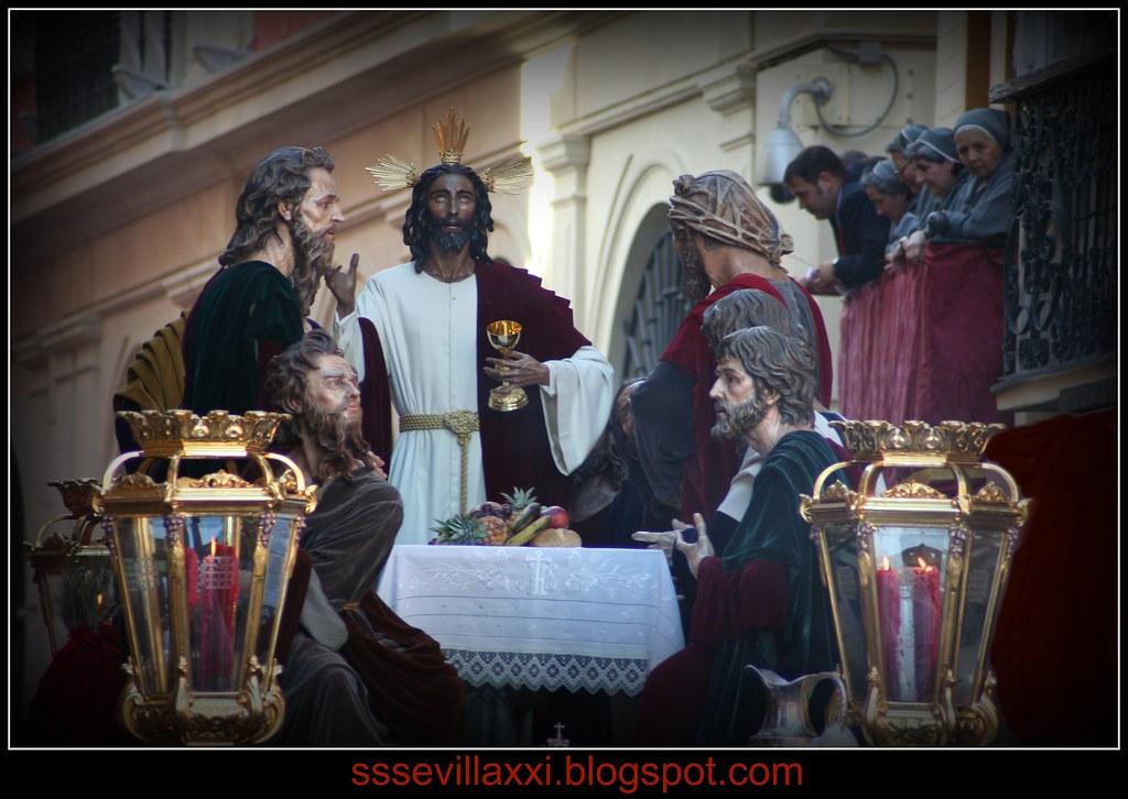 Misterio de la Sagrada Cena. Domingo de Ramos 2010