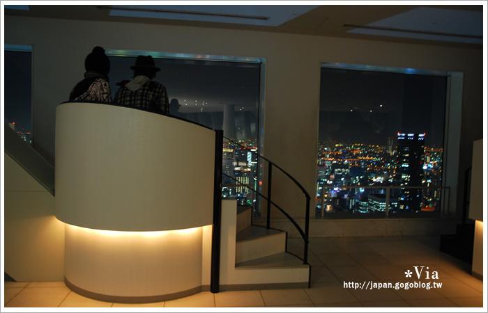 【大阪自由行】跟著via遊大阪~大阪梅田空中庭園展望台20
