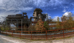 Landschaftspark Duisburg-Nord (rawshooter72) Tags: urban panorama canon eos dc industrial factory steel sigma os panoramic landschaftspark duisburg hdr nord hdri 18mm ptgui 1850mm photomatix tonemapped hsm 5xp f2845 1ev 1000d