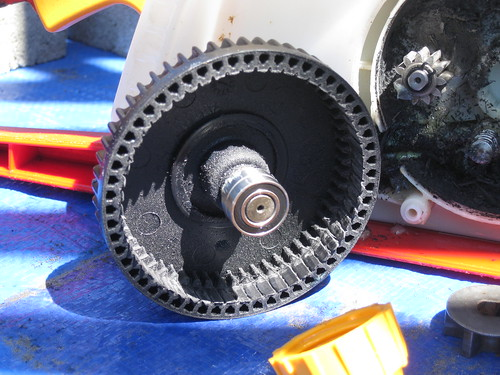 toothless internal gear stripped in cheap electric chainsaw