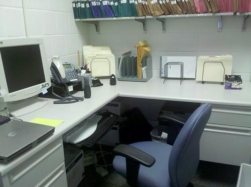 Farewell, little office