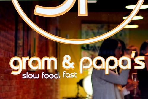 LUDO BITES AT GRAM & PAPA'S