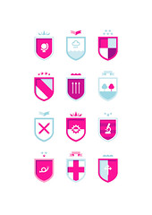 Arms (jezburrows) Tags: screenprint heraldry coatofarms jezburrows