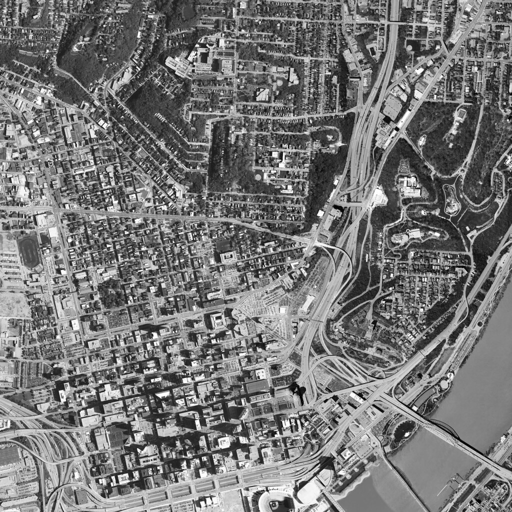 2004 Orthoimage aerial photo of Cincinnati (high resolution)