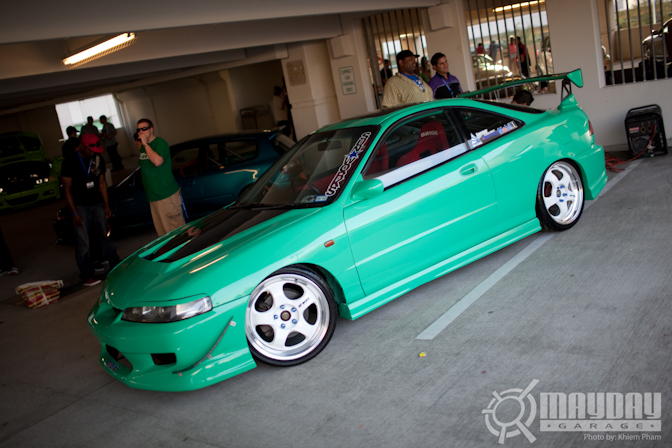 Kimos recent cover car, a minty fresh DC2 integra as seen in S3magazine.