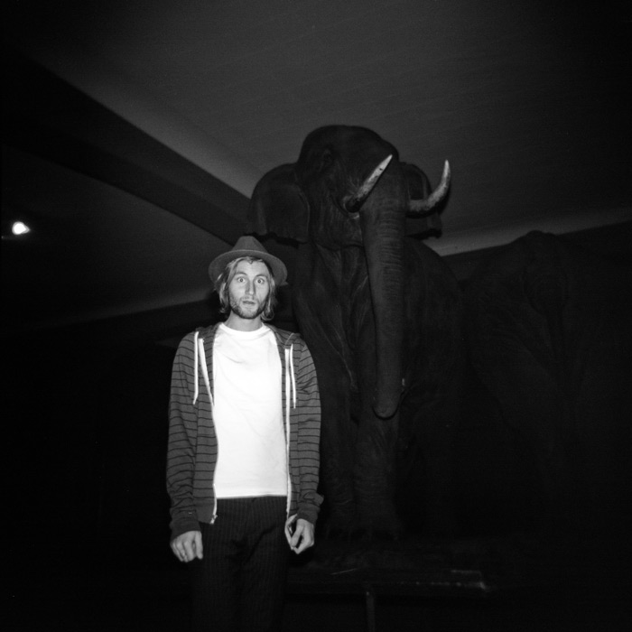 Image of Cheyne and the Elephant