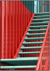 Structured Objects  -  # 2 (pergi28) Tags: red black stairs colours structures objects