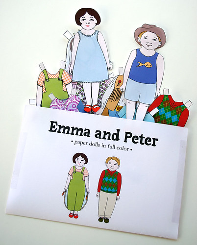 Emma and Peter Paper Dolls