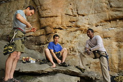 20100404_New River Gorge - Day 2 - Long Wall - Chewy, 5.10b _017 (monkey_vet) Tags: chewy rockclimbing newrivergorge longwall 510b