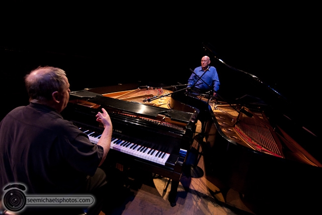 Kenny Werner and Mike Wofford at Birch North Park Theatre 40710 © Michael Klayman-008