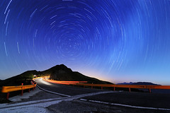 Shihmen Mt. Startrail: The Time Tunnel () Tags: longexposure silent taiwan   startrails milkyway  tarokonationalpark   d90   t116       shihmenmt