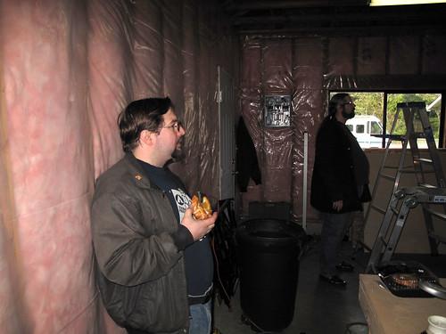 Joel Supervising