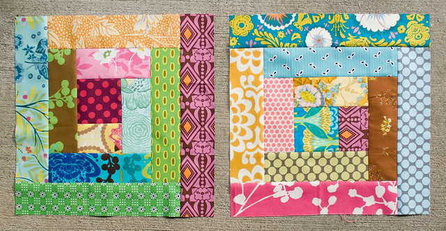 Modern Tradition blocks for Leanne