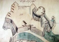 Original plan of Elizabeth Castle