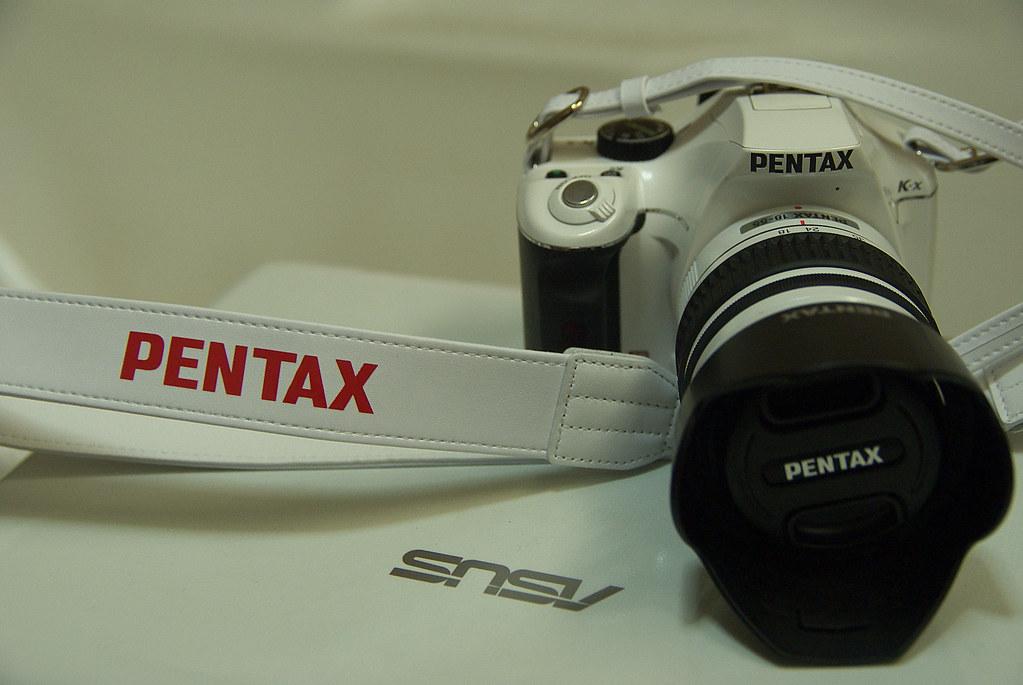 pentax k-x 白色相機背帶 分享