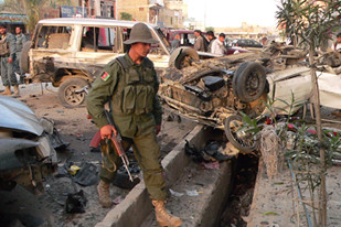 Military attacks against the US/NATO occupation are continuing in Afghanistan. A series of attacks were carried out in Kandahar as well as in the north of the country on April 15, 2010. by Pan-African News Wire File Photos