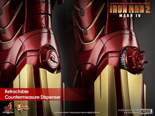 Iron Man 2 Mark IV detalle
