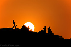 i am Leaving !! (A.alFoudry) Tags: sunset people orange cliff sun man black men leave boys car silhouette canon leaving eos big kuwait usm mad ef kuwaiti q8 30d abdullah 400mm    kuw canoneos30d q80 f56l xnuzha alfoudry canonef400mmf56lusm  canon400 abdullahalfoudry foudryphotocom
