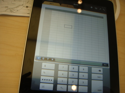 iPad Calculation
