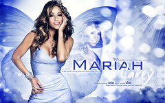 Mariah Carey ... (Bally AlGharabally) Tags: wallpaper female angel butterfly us perfect artist photographer designer dancer best size mc singer actress huge mariah selling rai kuwaiti carey bally gharabally algharabally