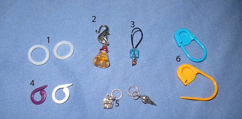 Crochet Stitch Markers How To Use : Crochet & Knit Toolkit: Stitch Markers Poetry in Yarn