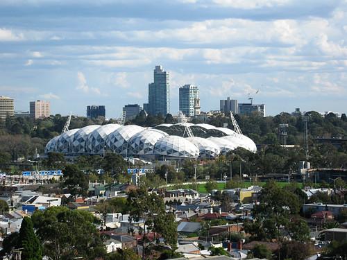 Melbourne soccer stadium