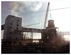 Kommunarsk (AnkhaiStenn) Tags: kommunarsk city alchevsk metallurgical plant metal smoke dust communa communism communist sun grunge russia russian ussr soviet social ukraine ukrainian donbass