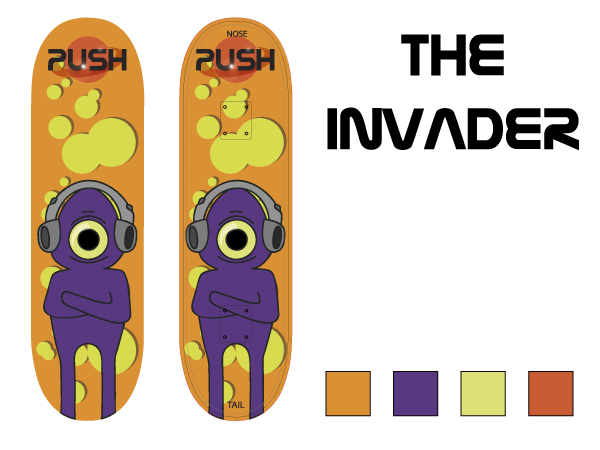 The Invader Design
