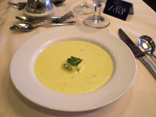 Carnival Spirit - Curried Apple Soup (THE BEST)