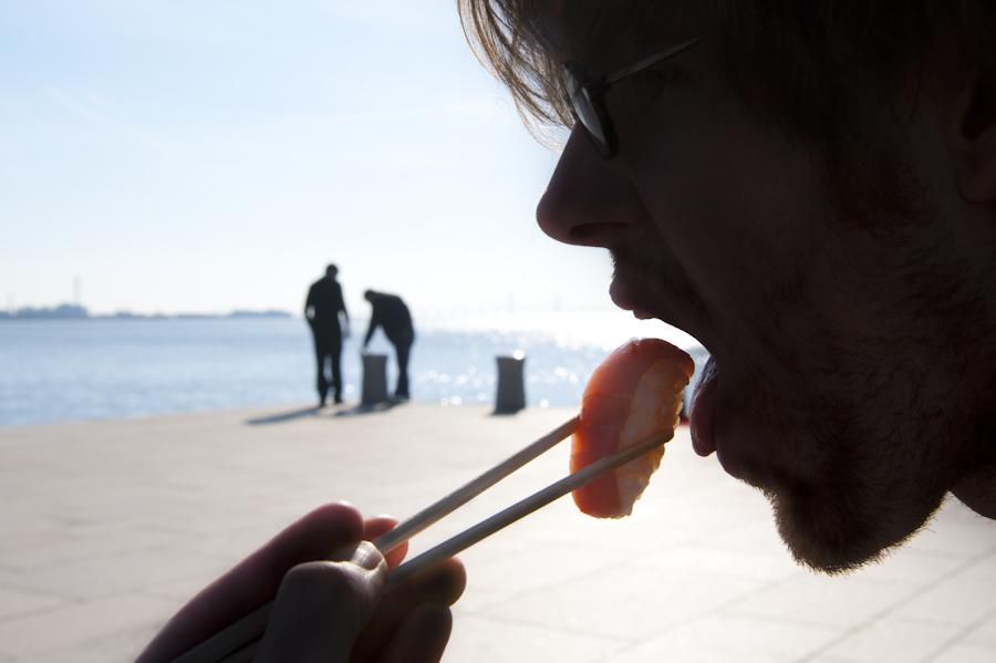 Sushi siluette