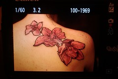 tattoo Orchid (TURKESA (old profile)) Tags: orchid flower tattoo drawing flash saturno turkesa rabodiga saturnoags