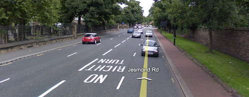Jesmond Road Google Street View