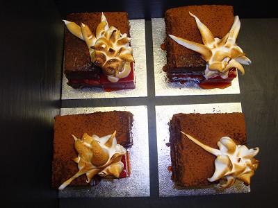 Icelandic Volcano Cakes by Tim Kinnaird