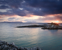 """Sunset near Eigg and Rum • <a style=""""font-size:0.8em;"""" href=""""http://www.flickr.com/photos/26440756@N06/4587182243/"""" target=""""_blank"""">View on Flickr</a>"""