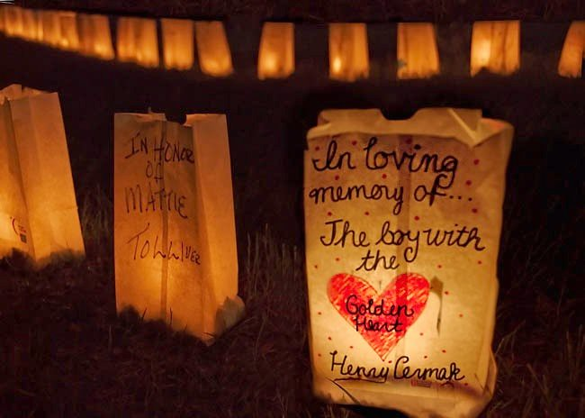 Relay For Life ....Luminaria Ceremony...