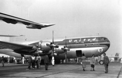 Boeing : 377 : Stratocruiser (San Diego Air & Space Museum Archives) Tags: aircraft aviation united boeing airlines ual airliners unitedairlines aeronautics stratocruiser b377 boeingstratocruiser sdasm boeing377 boeing377stratocruiser boeingmodel377stratocruiser boeingmodel377