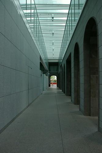 pastel corridor