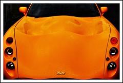 Tango'ed (mark1830) Tags: orange colour tangerine intense headlights raindrops tvr tuscan youvebeentangoed