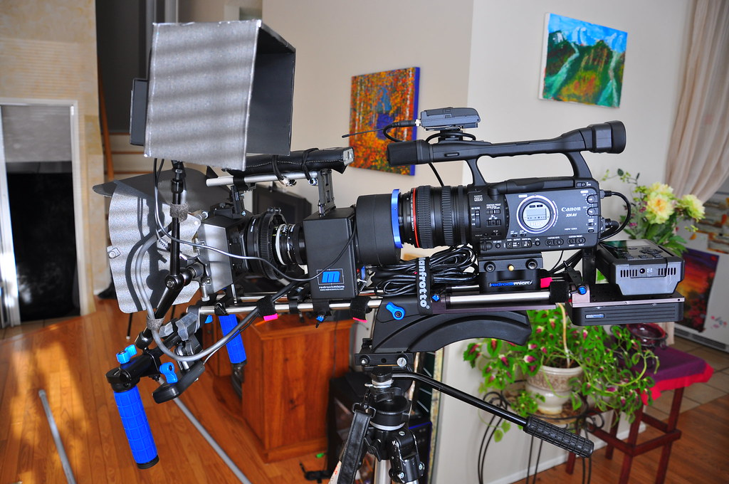 Redrock Micro Video setup