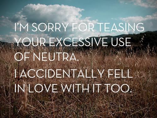Neutra Love
