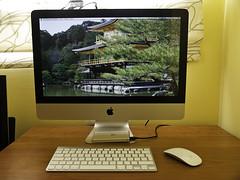 Level Up!! (Osomoso - ) Tags: macintosh mac imac teclado ordenador olympus colores monitor led e3 pantalla ratn aluminio inalambrico fullhd