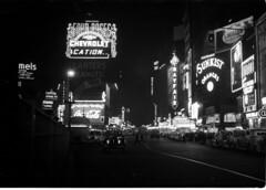 Times Square_6 (jacqlennon) Tags: newyorkcity night neon broadway timessquare 1939 1930snewyork