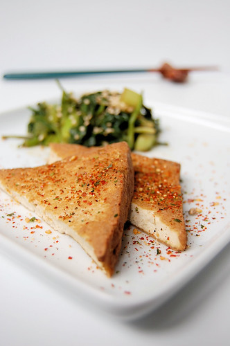 hojicha tofu