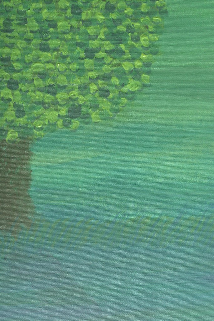 Project #3, landscape with tree