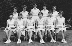 Stamford High School Tennis Team 1955