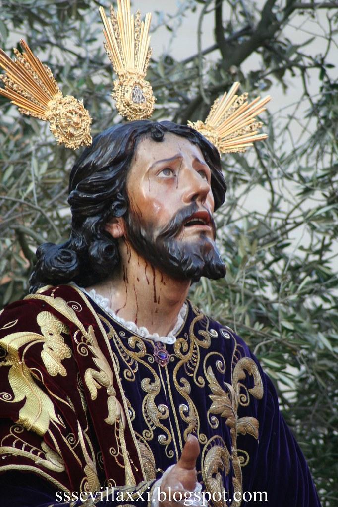Jesús Orando en el Huerto, Jueves Santo 2010