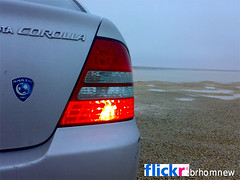 toyota corolla (my car) (brhomnew) Tags: club saudi corolla                      alhilal