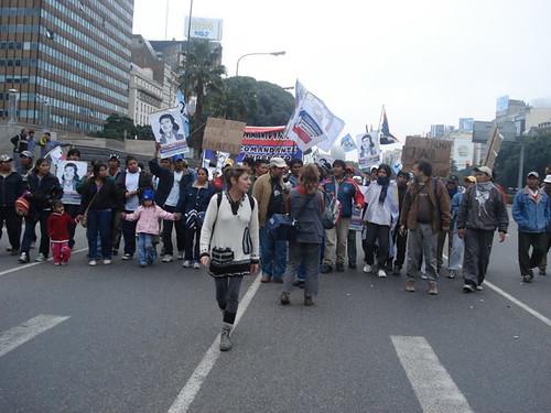 indigenas en plaza de mayo 2