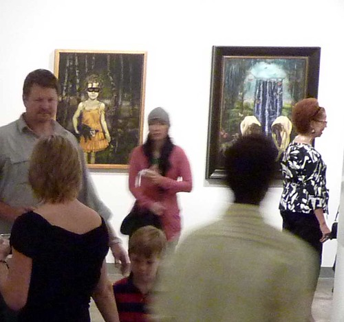 P1020163-2010-05-21-Mason-Murer-Reception-Crowd-DAWN-DAVIS-Playing-Possum-Rites-Of-Spring